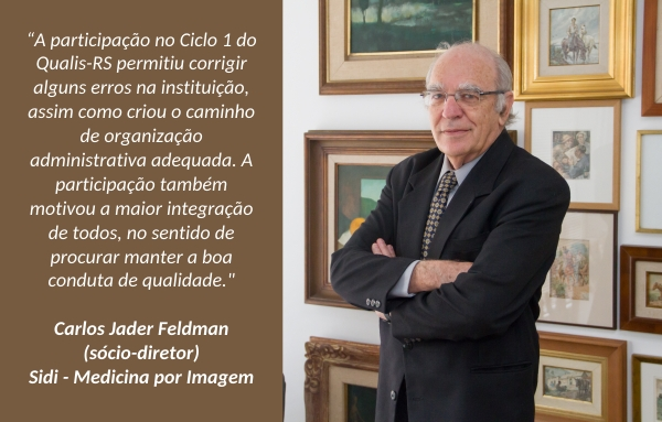 Carlos Jader Feldman sócio-diretor da Sidi Medicina por Imagem