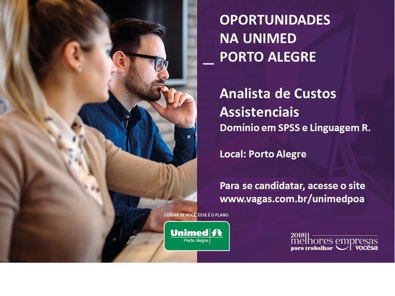 Analista Custos Assistenciais – Unimed Unimed (Porto Alegre) RS bc8ff52697973