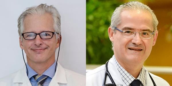 Dr. Luís Eduardo Rohde e Dr. Felix Ramires