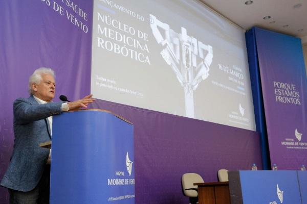 Dr. Luiz Antonio Nasi,Superintendente médico do Hospital Moinhos de Vento