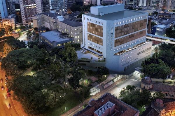 Lançamento da Pedra Fundamental do Hospital Nora Teixeira