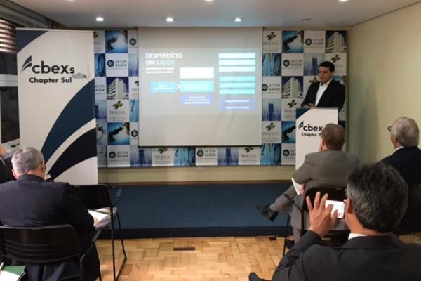 CEO do CBEXs, Luiz Felipe Costamilan
