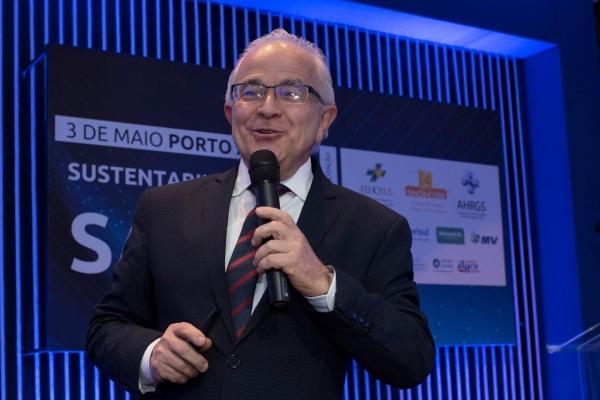 Sustentabilidade em Saúde realizado no dia 3 de maio em Porto Alegre