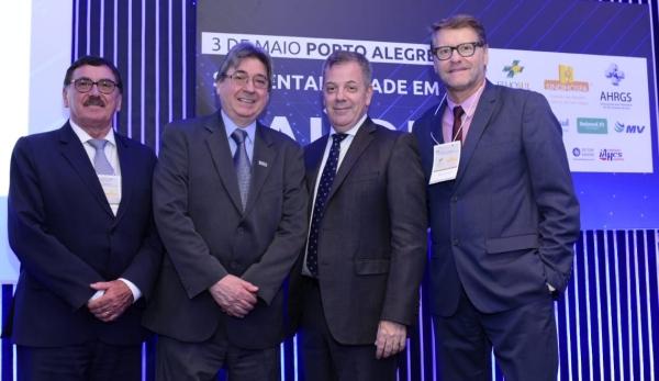 Odacir Rossato, Cláudio Allgayer, Fernando Torelly e Paulo Petry