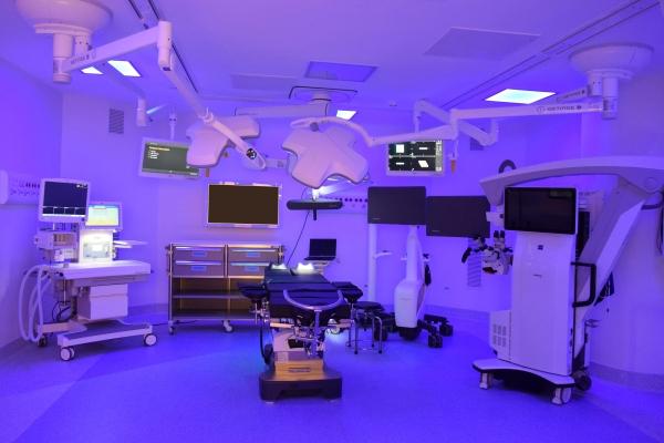 Sala Cirúrgica do novo hospital premium de São Paulo