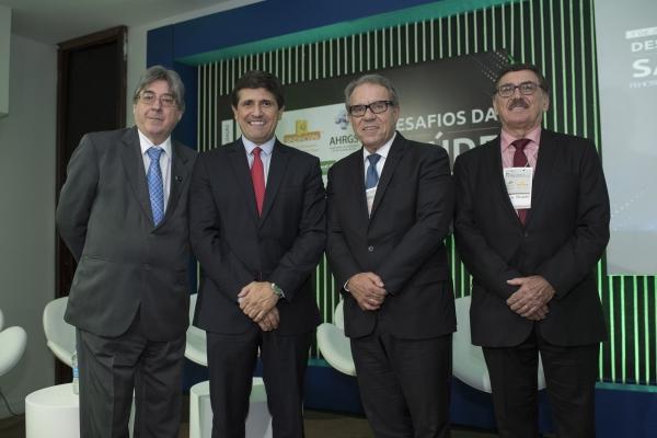 Cláudio Allgauer, Mohamed Parrini, Francisco Balestrin e Odacir Rossato