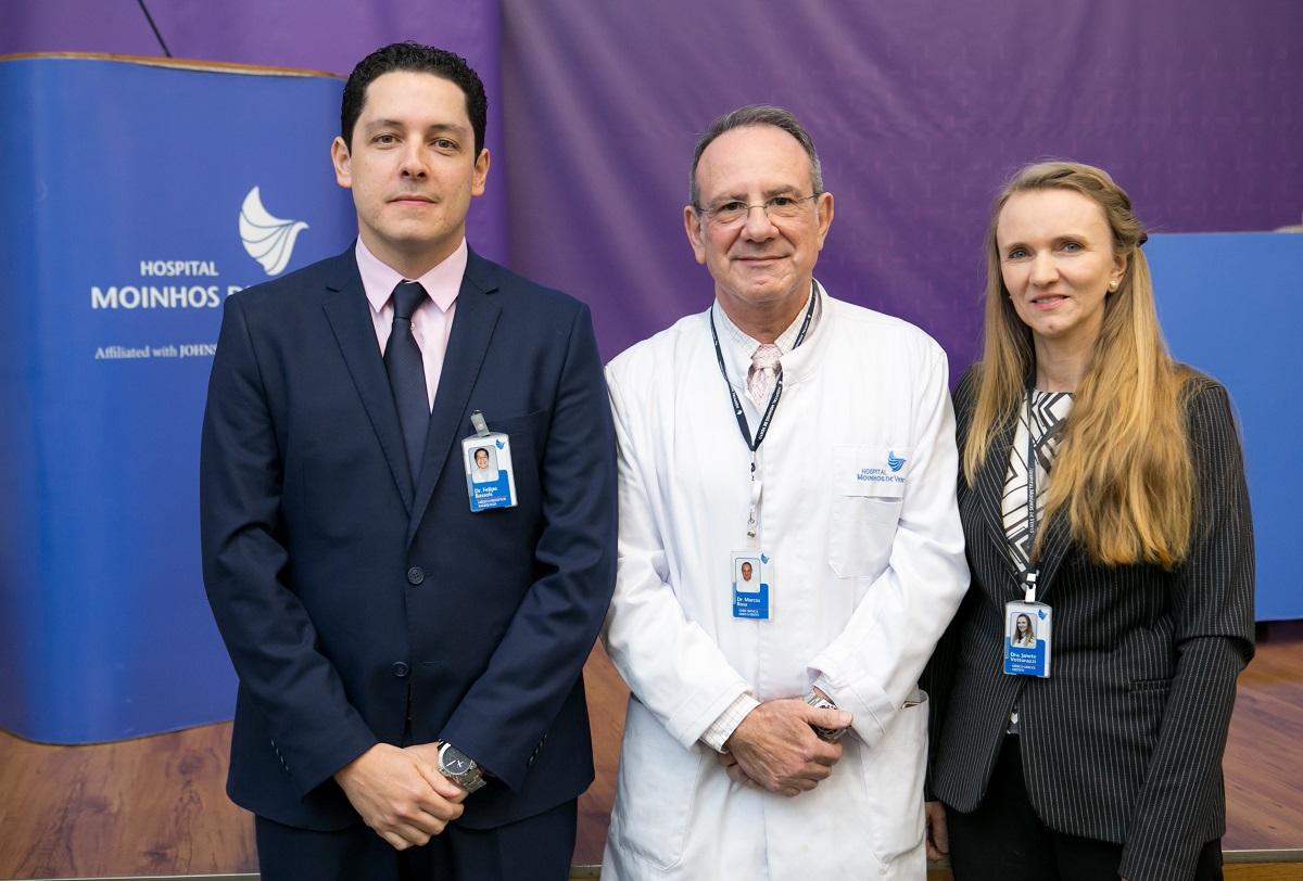 Felipe Bassols, Marcos Wengrover e Janete Vettorazzi