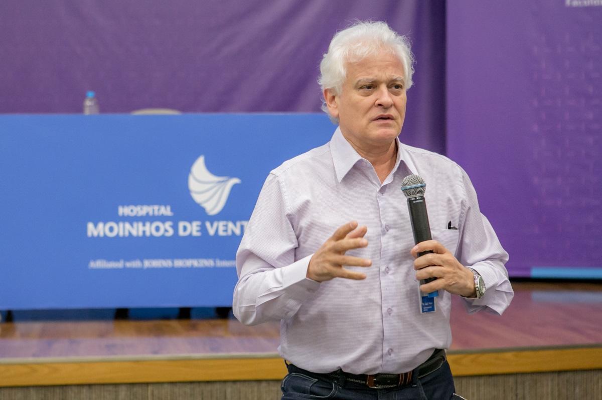 Superintendente Médico do Hospital Moinhos de Vento, Luiz Antonio Nasi