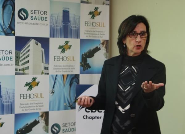 Beatriz Schaan, coordenadora do Núcleo Interno de Regulação do HCPA