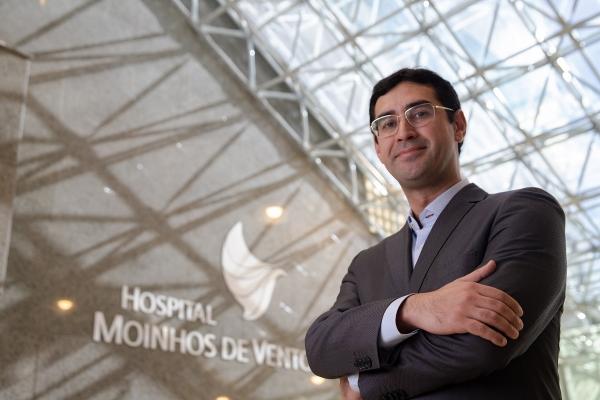 Médico intensivista Regis Goulart Rosa, líder e responsável técnico do UTI Visitas