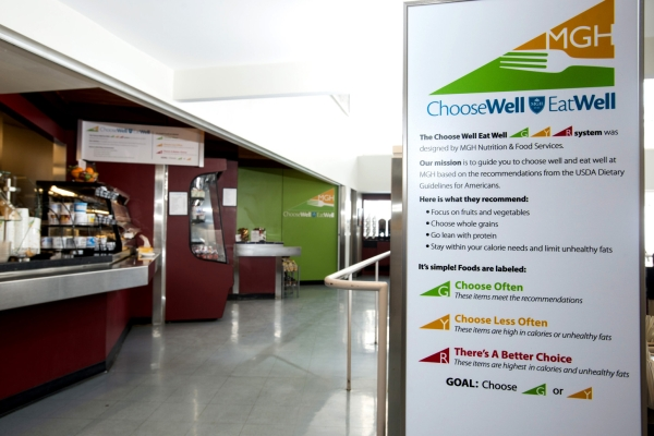 Programa se chama Escolha Bem, Coma Bem (Choose Well, Eat Well)