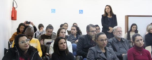 O evento foi realizado na Fasaúde/IAHCS em Porto Alegre