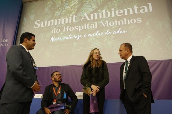 Rogério Almeida, John Wurdig, Annelise Monteiro Steigleder e Evandro Moraes