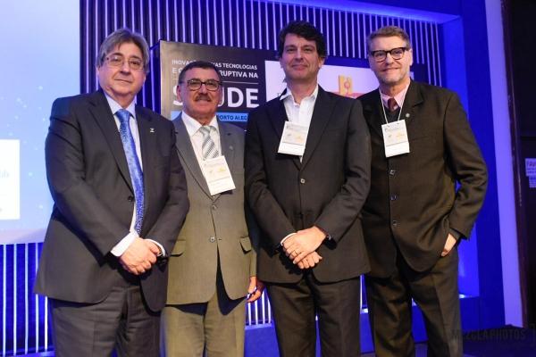 Claudio Allgayer, Odacir Rossato, Carlos Klein e Paulo Petry