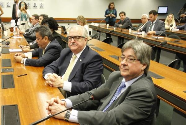 Pedro Westphalen e Cláudio Allgayer na Câmara dos Deputados