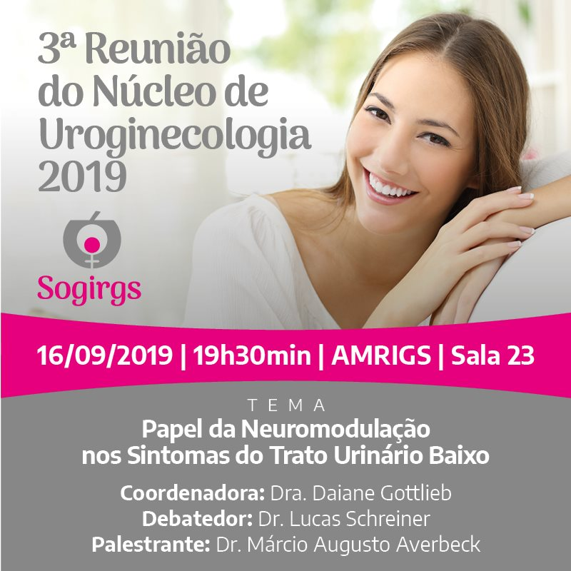 3 Reunião do Núcleo de Uroginecologia