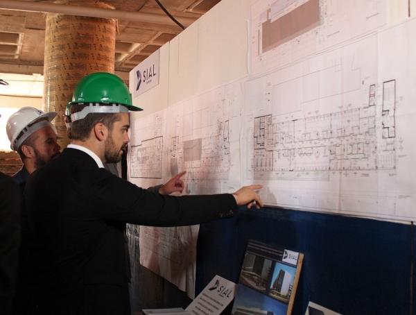 Eduardo Leite conheceu detalhes do projeto