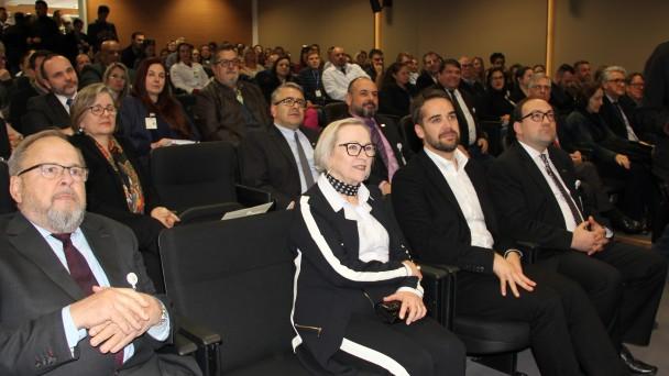 Francisco Paz, Arita Bergmann e Eduardo Leite