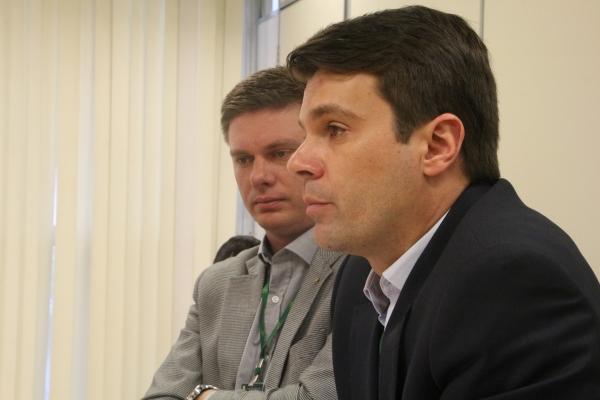 Henrique Hermany e Marcus Vinicius de Almeida (IPE-Saúde)