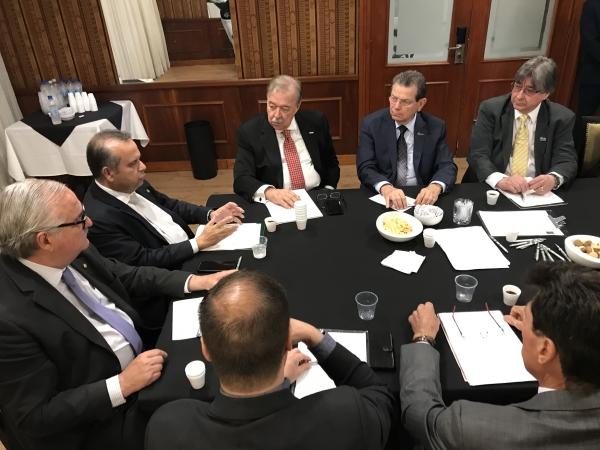 FEHOSUL promove encontro entre federações patronais e Secretário da Previdência e do Trabalho3