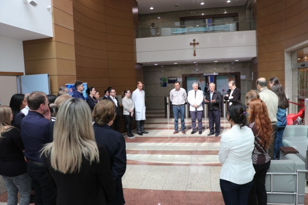 Hospital São Vicente de Paulo de Passo Fundo apresenta remodelação do setor de Internações de unidade5