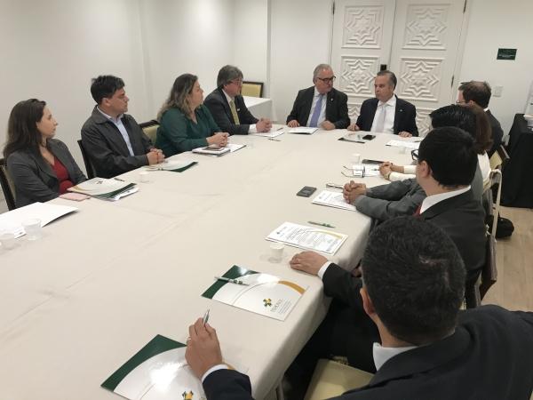 Rogério Marinho (Secretário Especial de Previdência e Trabalho/Ministério da Economia) falou na abertura