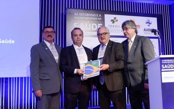 Odacir Rossato, Rogério Marinho, Pedro Westphalen e Cláudio Allgayer