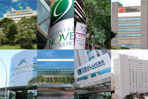 Ranking lista hospitais brasileiros entre osmelhoresda América Latina_