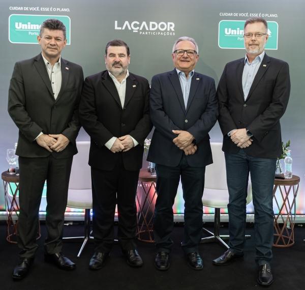 Executivos da Unimed Poa