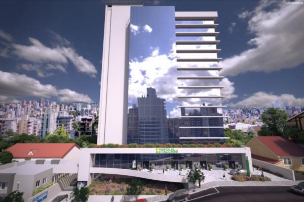 Medical Center contará com um estacionamento com 360 vagas, clínicas e consultórios