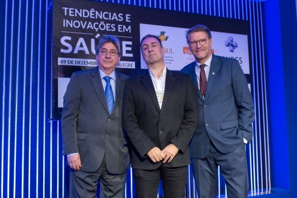Cláudio Allgayer, Eduardo Elsade e Paulo Petry