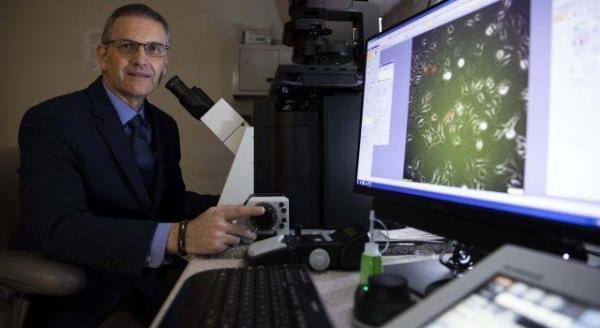 George Vasmatzis em laboratório da Mayo