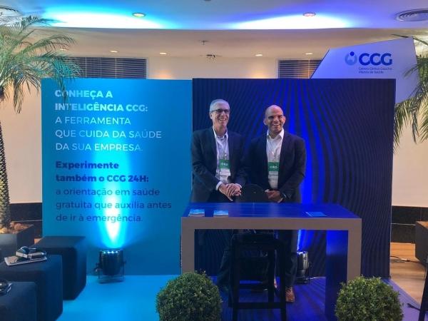 Executivos Mauro Borges e Fábio Rossetto