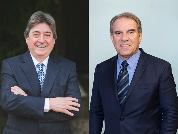 Claudio Allgayer e Francisco Balestrin