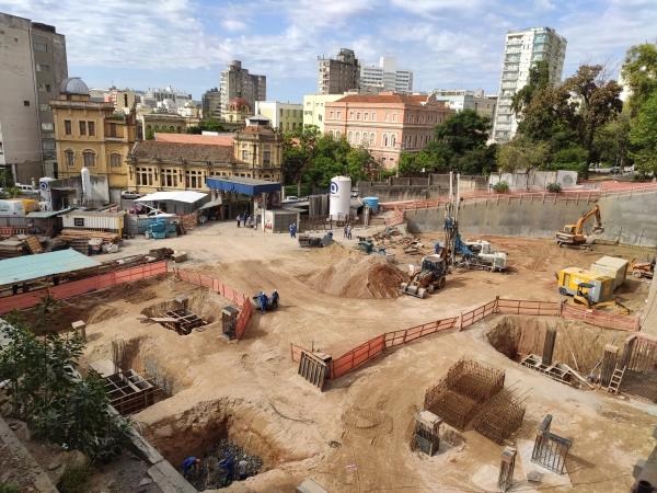 Obras do novo Hospital Nora Teixeira