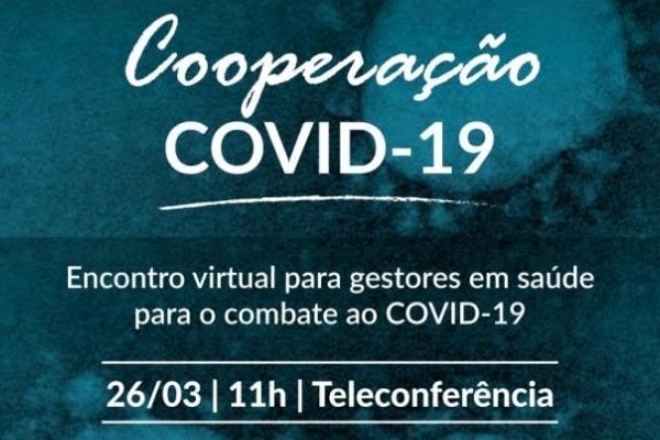 COOPERAÇÃO COVID-19 (Hospital Mãe de Deus) Teleconferência
