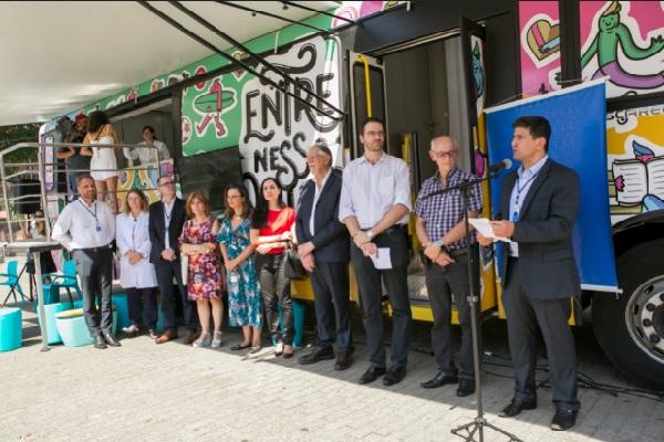 Lançamento reuniu superintendentes do Hospital Moinhos de Vento, pesquisadores e autoridades da Prefeitura de Porto Alegre e do Ministério da Saúde