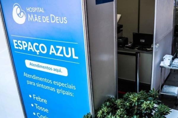 Hospital Mãe de Deus expande número de leitos em 20% para atender pacientes com a Covid-19
