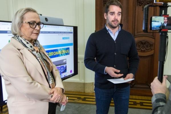 Governo do RS lança site com taxa de ocupação de leitos em tempo real