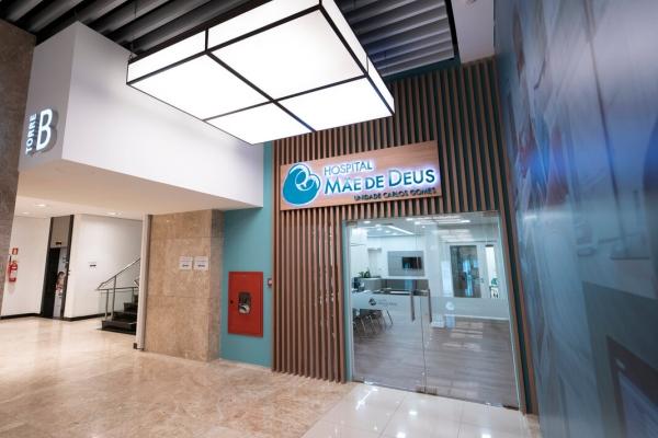 Hospital Mãe de Deus localizado na avenida Carlos Gomes apresenta revitalização