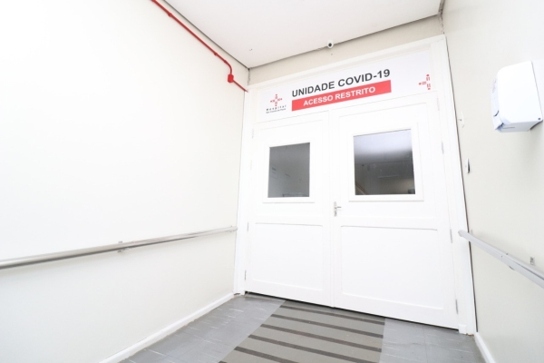 Hospital São Vicente de Paulo de Cruz Alta passa a contar com unidade exclusiva para pacientes Covid-19