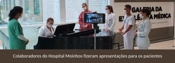 Hospital Moinhos de Vento realiza desejos de pacientes e colaboradores