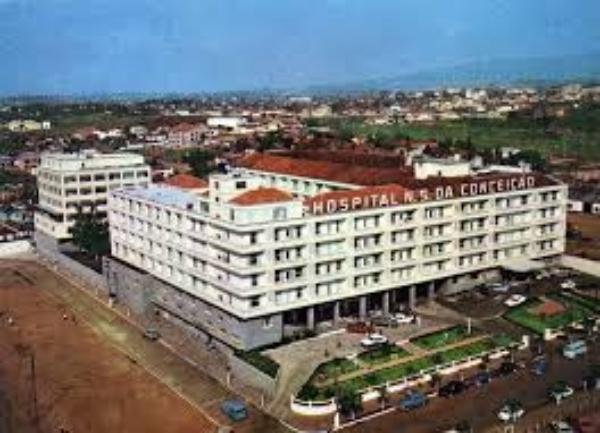 Foto antiga do Hospital Conceição