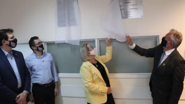 Governo do RS e prefeitura de Guaíba inauguram 40 novos leitos_
