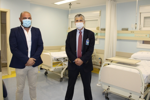 Hospital Dom João Becker inaugura 12 leitos exclusivos para Covid_