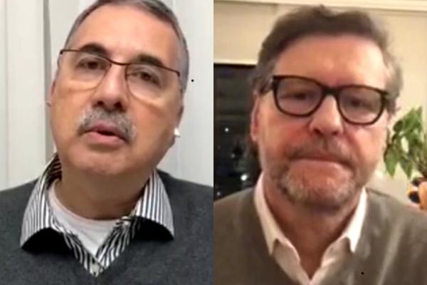Rogério Tovar e Paulo Petry