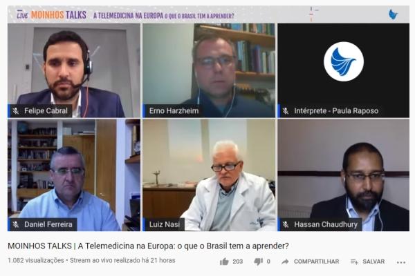 Pandemia provocou mudanças e avanços na telemedicina na Europa e Brasil