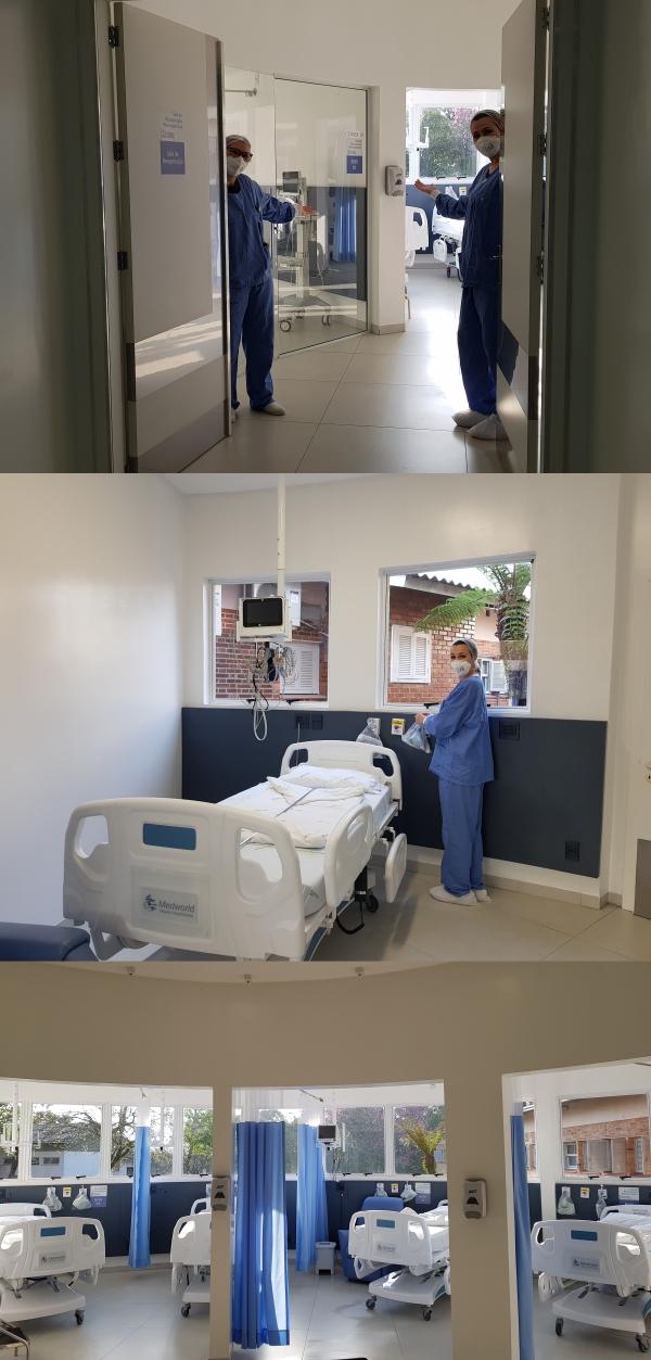 Tacchini Sistema de Saúde conclui reforma da sala de recuperação do Hospital São Roque_