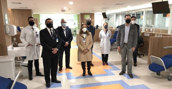 Hospital Ernesto Dornelles apresenta Centro de Nefrologia e Diálise com tecnologia de ponta_