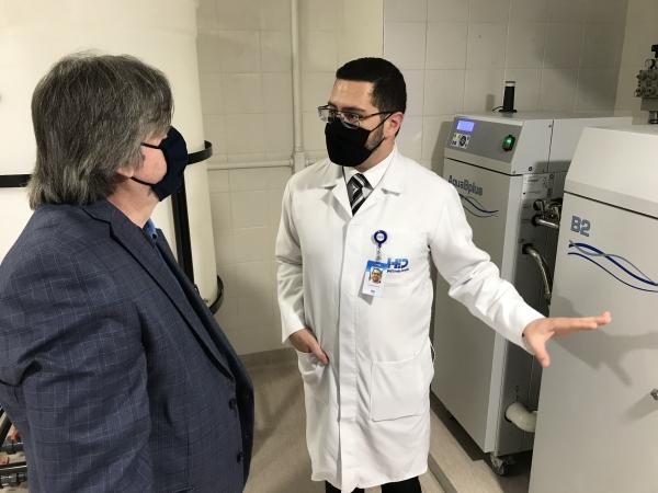 Hospital Ernesto Dornelles apresenta Centro de Nefrologia e Diálise com tecnologia de ponta__